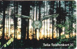 SWEDEN(chip) - Owl, CN : C5A153828, 09/95, Used - Sweden