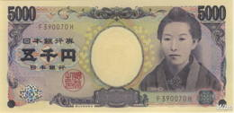Japan 5000 Yen (P105c) (Pref: F) -UNC- - Japon