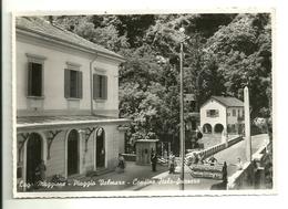 """4041 """" LAGO MAGGIORE-PIAGGIO VALMARA-CONFINE ITALO-SVIZZERO """"ANIMATA-FINANZA-CARABINIERE  CART. POST. ORIG. SPEDITA 1952 - Verbania"""