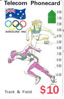 AUSTRALIA -  Barcelona 1992 Olympics/Track & Field(N91044-3-2), Used - Jeux Olympiques