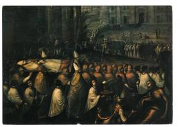 Tematica  Arte Arona Lago Maggiore Chiesa Del Sacro Monte I Funerali Di San Carlo Borromeo A Milano Dipinto Ad Olio Viag - Belle-Arti