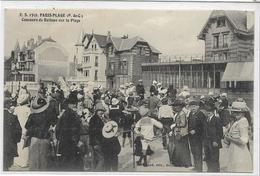62 PARIS-PLAGE . Concours De Ballons Sur La Plage  , édit ,: E S , écrite En 1916 , état SUP - Le Touquet