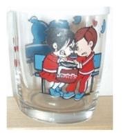 Bicchiere O Bicchieri Nutella Kinder Ferrero 1999 - Immagimatte - Fidanzati  ( Glass - Glasses - Verres - Vasos - Glaser - Glasses