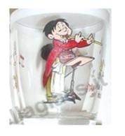 Bicchiere O Bicchieri Nutella Kinder Ferrero 1999 - Immagimatte - Suonatore Di Flauto ( Glass - Glasses - Verres - Vasos - Glasses
