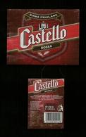 Etichetta - Birra Castello - Birra