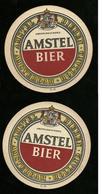 Sotto-boccale O Sottobicchiere - Amstel 3 - Birra - Bier - Beer Mats - Sous Bocks - Bierdeckel - Pils - Beer - Sotto-boccale