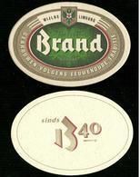 Sotto-boccale O Sottobicchiere - Brand 3 - Birra - Bier - Beer Mats - Sous Bocks - Bierdeckel - Pils - Beer - Sotto-boccale