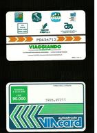 P. 120 Cat. Viacard - Viacard Viaggiando - 7 Simboli Da Lire 90.000 Pkappa - Italië