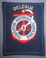 Ancien Insigne Tissu Société De Sauvetage - Marine