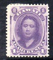 APR1315 - HAWAII 1864 , Yvert N. 22  *  Linguella Forte  (2380A) - Hawaii