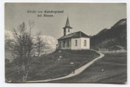 SUISSE - KIRCHE VON KANDERGRUND - BE Berne