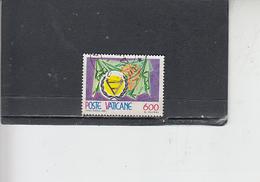 VATICANO  1981 - Sassone 696 - Handicap - Vaticano (Ciudad Del)