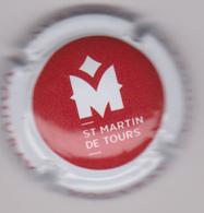 Capsule Mousseux ( St Martin De Tours VOUVRAY , Crémant De Loire ) {S24-19} - Sparkling Wine