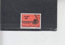 VATICANO  1981 - Sassone  690- Eucaristico - Vatican
