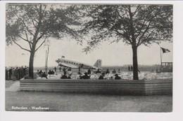 "Vintage Rppc KLM K.L.M Royal Dutch Airlines Douglas Dc-2 ""Havik"" @ Waalhaven Rotterdam Airport - 1919-1938: Between Wars"