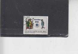 VATICANO  1981 - Sassone  693  - Eucaristico - Vatican