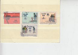 VATICANO  1981 - Sassone  690/3  - Eucaristico - Vaticano (Ciudad Del)