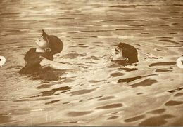HARDY BOY SCOUTS LEARN TO SWIM  OF NORWOOD SCOUTING JAMBOREE  SCOUTISME 17*12CM Fonds Victor FORBIN 1864-1947 - Fotos
