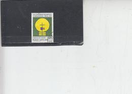 VATICANO  1989 - Sassone  866 - Eucaristico - Vatican