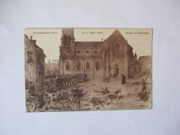 FOURMIES LE 1er MAI 1891 APRES LA FUSILLADE - Fourmies