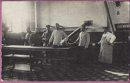Orig.Foto AK Lessines,Küche Soldaten In Kaserne? Feldpost Schöner Stempel - Guerre 1914-18