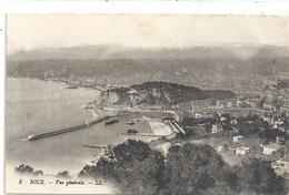 3. NICE . VUE GENERALE . ECRITE AU VERSO LE 12-6-1917 - Nizza