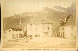 E.C.  St PIERRE DE CHARTREUSE La Place - Fotos