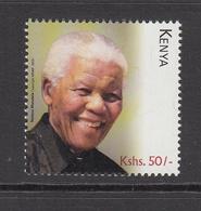 2018 Kenya Mandela NEW ISSUE Nobel  Complete Set Of One - Kenya (1963-...)