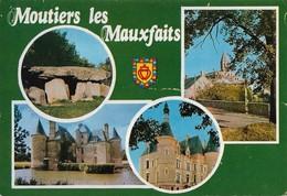 85 Moutiers Les Mauxfaits Divers Aspects (2 Scans) - Moutiers Les Mauxfaits