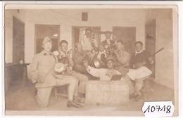 10718  SYRIE  AK PC CARTE PHOTO  MAALAKA   LE P.H.R. DU 8° R.A.D.  LE JAZZ  BAND - Siria