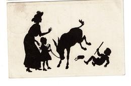 Silhouettes - B. Kühlen's N° 6 - Circulée En 1919 - - 2 Scans - Silhouettes