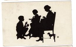 Silhouettes - B. Kühlen's N° 2 - Circulée En 1919 - - 2 Scans - Silhouettes