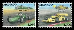Monaco 2019 Mih. 3426/27 Formula 1. Legendary Race Cars BPM P57 And Renault RS01 MNH ** - Neufs