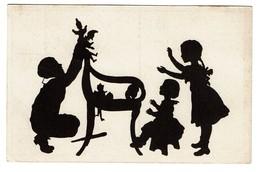 Silhouettes - B. Kühlen's N° 4 - Circulée En 1919 - - 2 Scans - Silhouettes