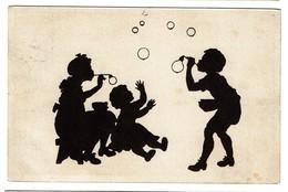Silhouettes - B. Kühlen's N° 3 - Circulée En 1919 - - 2 Scans - Silhouettes