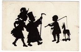 Silhouettes - B. Kühlen's N° 5 - Circulée En 1919 - - 2 Scans - Silhouettes
