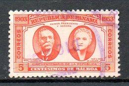 PANAMA. N°290 Oblitéré De 1953. Cinquantenaire De La République. - Panama