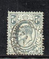 APR1332 - GRAN BRETAGNA 1909 , Unificato N. 123 Usato  (2380A) - Used Stamps