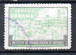 PANAMA. N°324 Oblitéré De 1959. Institut De La Réhabilitation De La Jeunesse Délinquante. - Panama