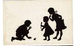 Silhouettes - B. Kühlen's N° 1 - Circulée En 1919 - - 2 Scans - Silhouettes