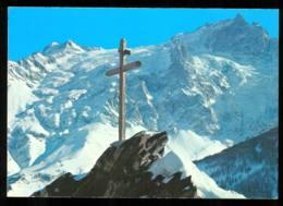 La Meije Vue De La Route Du CHAZELET Carte N°25 édition D'art Yvon Année 1988 - Francia