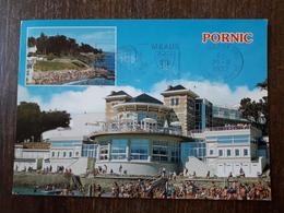 L21/502 Pornic .  Le Centre De Thalassothérapie Et La Plage De Birochère - Pornic
