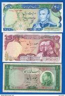 Iran  3  Billets - Iran