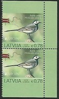 "LETONIA /LATVIA /LETTLAND /LETTONIE -EUROPA 2019 -NATIONAL BIRDS.-""AVES - BIRDS -VÖGEL -OISEAUX""- 2 SERIES CARNET  ESSEN - 2019"