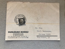 VIGEVANO GUGLIELMO MOEHLE  RAPPRESENTANZE   1937 - Vigevano
