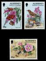 ALDERNEY Nr 100A-102A Postfrisch S00B182 - Alderney