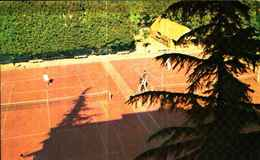 4798)  CARTOLINA DI CAVA DEI TIRRENI-CAMPI TENNIS-VIAGGIATA - Cava De' Tirreni