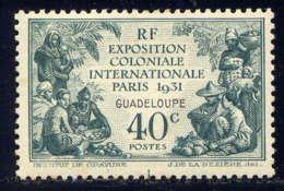 GUADELOUPE - 123* - EXPOSITION COLONIALE DE PARIS - Guadalupe (1884-1947)