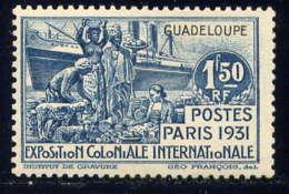 GUADELOUPE - 126* - EXPOSITION COLONIALE DE PARIS - Guadalupe (1884-1947)