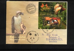 Hungary / Ungarn 1999 Birds Interesting Cover - Eagles & Birds Of Prey